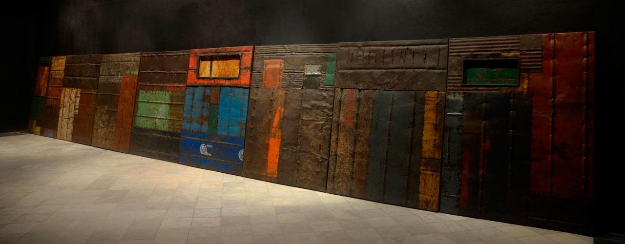 De la serie Desde el silencio, 2013. Instalación, Dimensiones variables