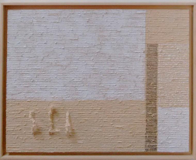 S-T, 2017. Mixta sobre tela. 60 x 80 cm