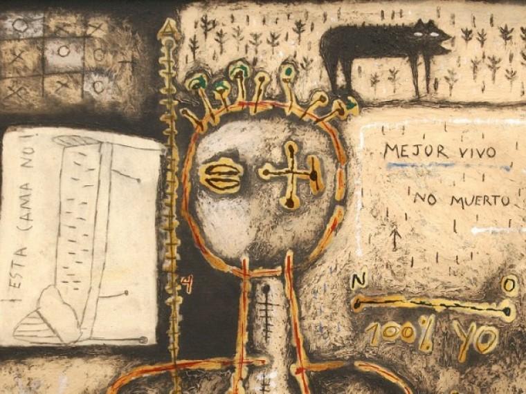 """Fragmento de la obra """"Aquí no gana nadie"""", de Roberto Diago. Foto: cortesía de los organizadores"""